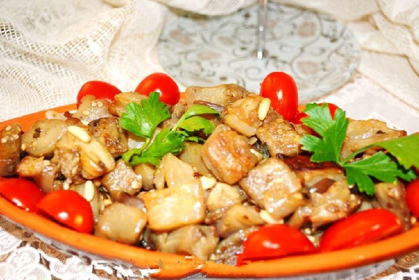 piatto-melanzane-agrodolce