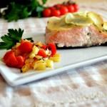 Salmone al forno: ricetta facile e leggera