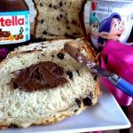 Pan Brioche alla Nutella con la macchina del pane