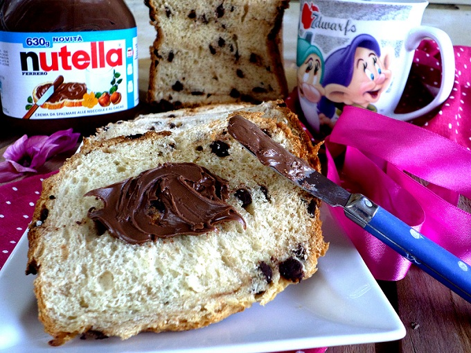 pan brioche nutella