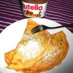 Crepes alla Nutella, ricetta veloce e gustosa