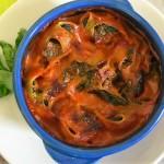 Conchiglioni o lumaconi ripieni al forno: ricotta e spinaci