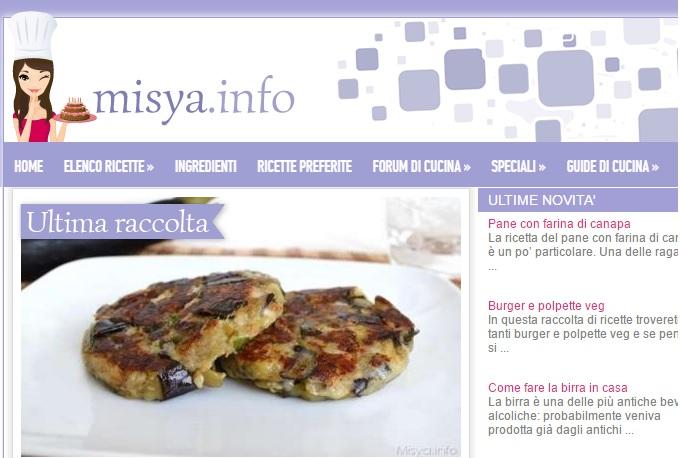 Siti di cucina piu cliccati ricette casalinghe popolari for Siti di ricette cucina