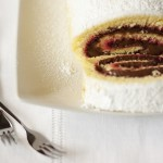 Rotolo alla nutella: pasta biscotto versione variegata