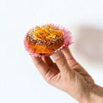 Muffin con carota, arancia e limone senza glutine