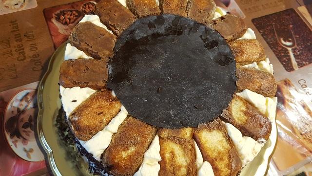 torta tiramisù semifreddo