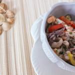 Insalata di mare fatta in casa con la ricetta veloce