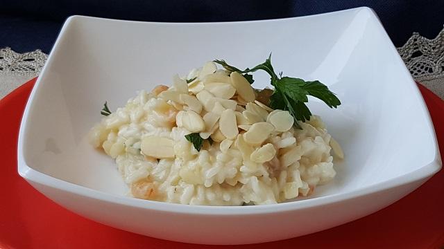 risotto-mela-verde-gamberetti-e-taleggio