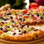 Pizza all'americana come nei film