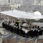 Dinner in the Sky: il ristorante panoramico farà tappa a Roma