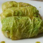 Involtini di verza con prosciutto e patate