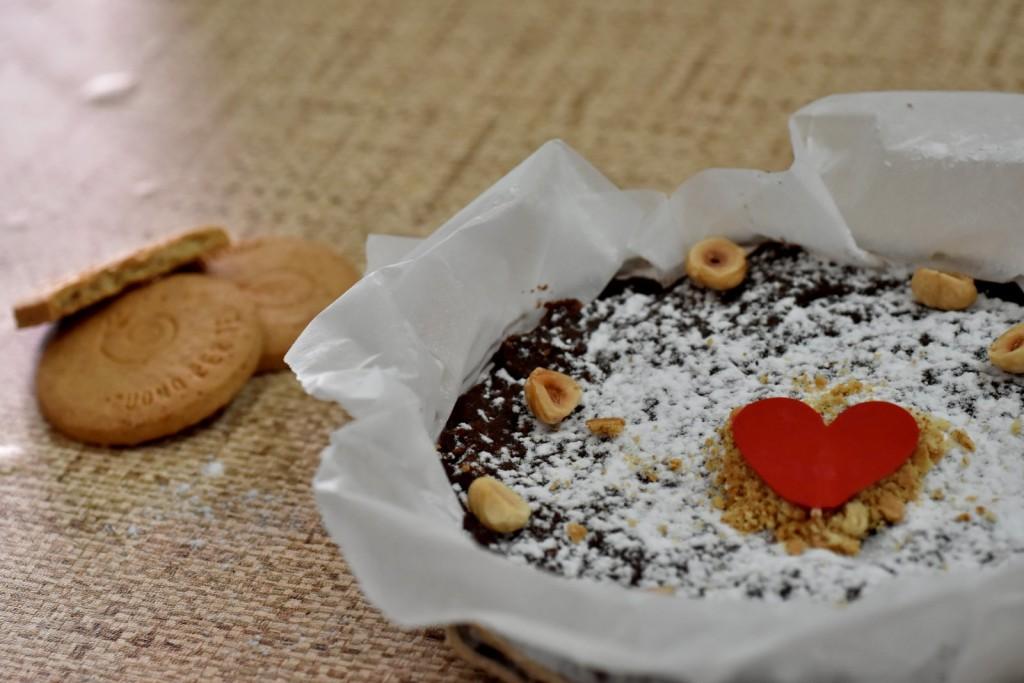 torta di salame al cioccolato