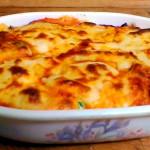 Crepes salate: crespelle al forno alla fiorentina