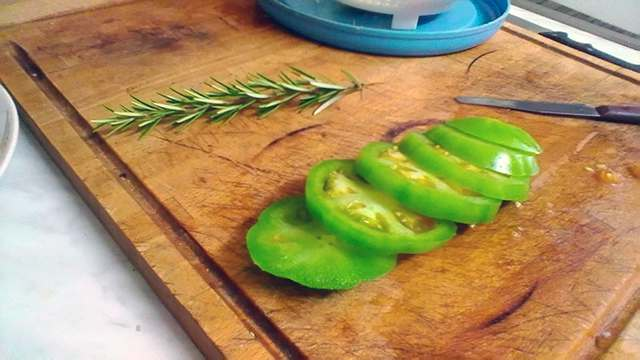 pomodori verdi fritti - photo #30