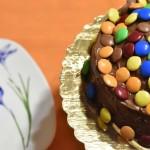 Torta alla Nutella e Smarties colorata e buona