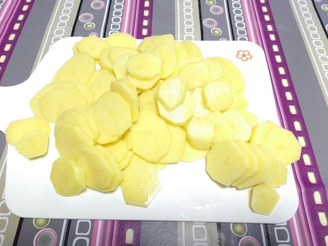 preparazione parmigiana di patate 1