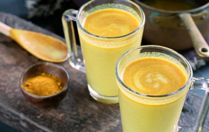 Golden milk, il latte d'oro a base di curcuma
