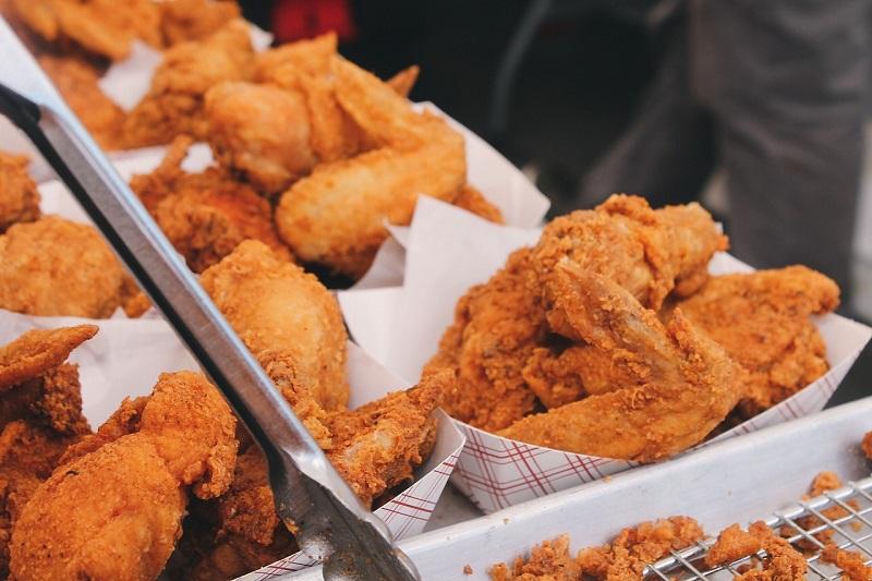 Pollo fritto, croccantezza made in USA