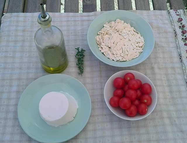 ingredienti corzetti alla polceverasca