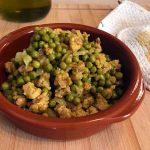 Spezzatino di soia e piselli al curry, ricetta vegan
