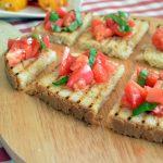 5 consigli per preparare le bruschette