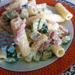 Pasta zucchine e speck, il primo in 15 minuti