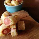Rustici con wurstel per aperitivi perfetti