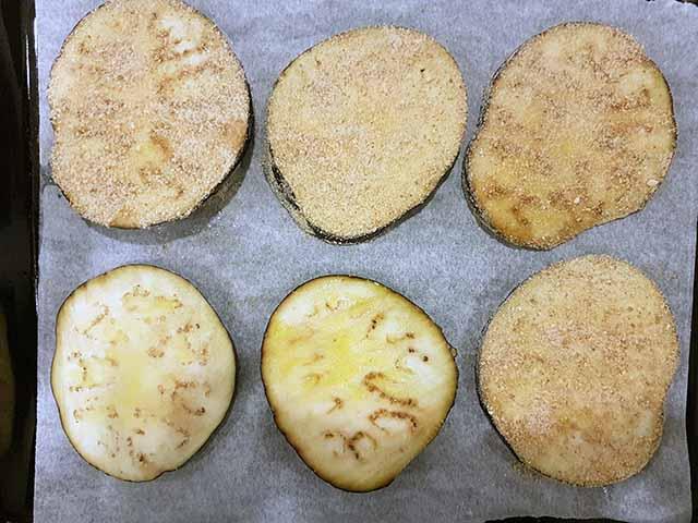 tortino di melanzane