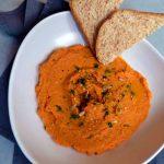Hummus di Peperoni, una crema leggera e squisita