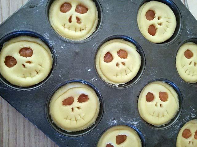 crostatine di halloween