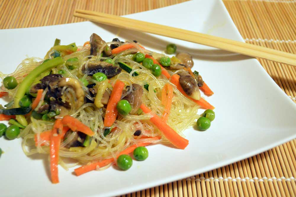 Spaghetti di soia, un classico della cucina orientale
