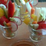 Pinzimonio di verdure, l'antipasto salutare per eccellenza