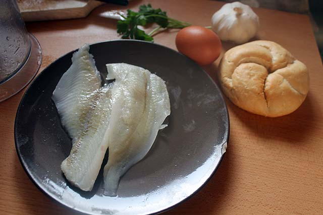 ingredienti polpette di pesce