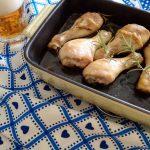 Pollo al forno con la birra, un secondo per le feste