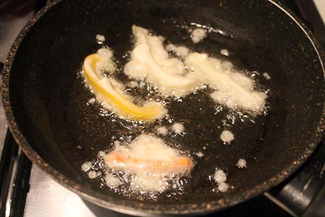 verdure che friggono