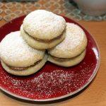 Alfajores, biscotti con dulce de leche