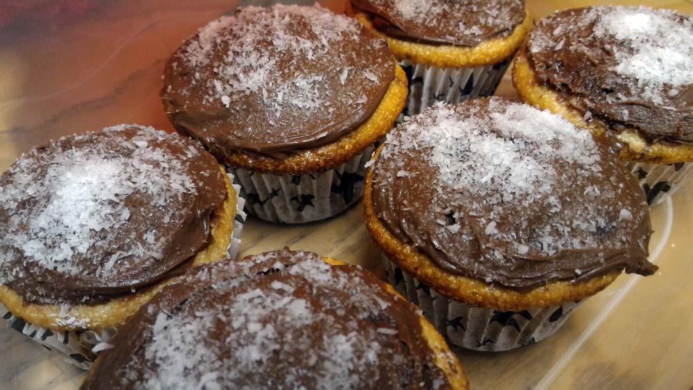 muffin cocco e caffè