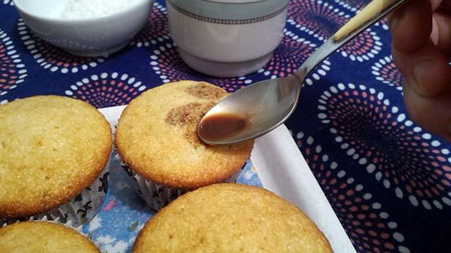muffin cocco caffe