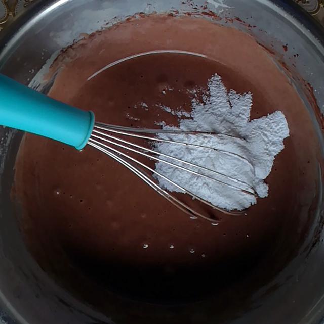 aggiunta farina cacao