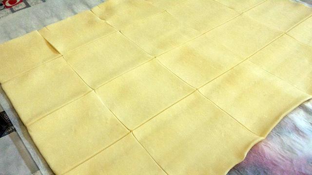 tagliare pasta sfoglia