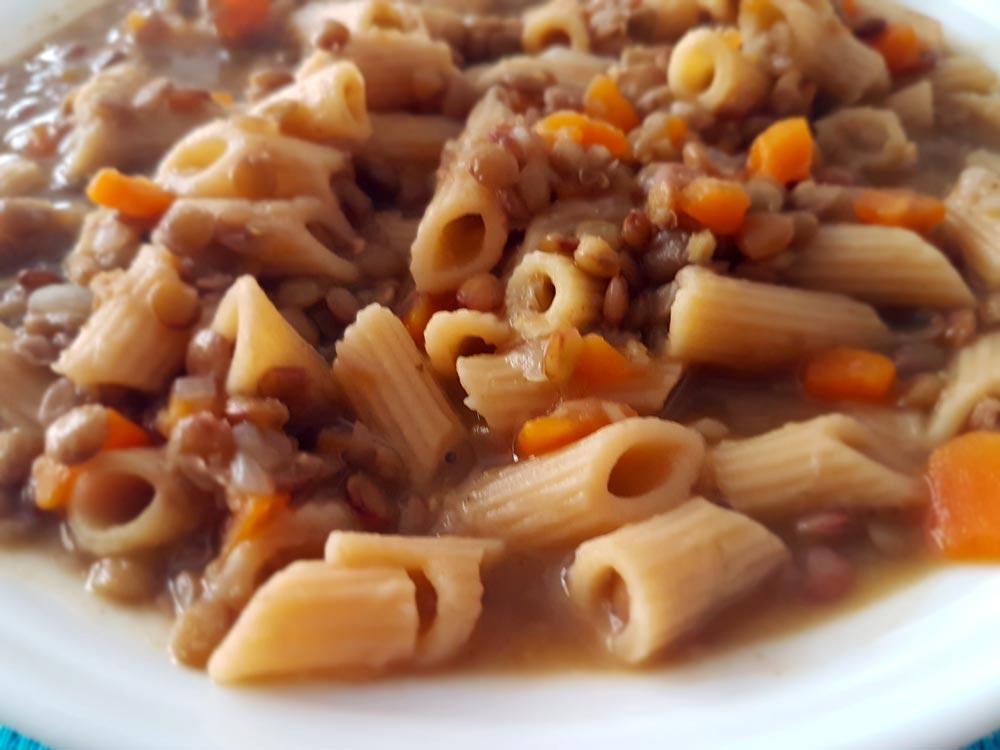 Zuppa di lenticchie, un caldo primo piatto
