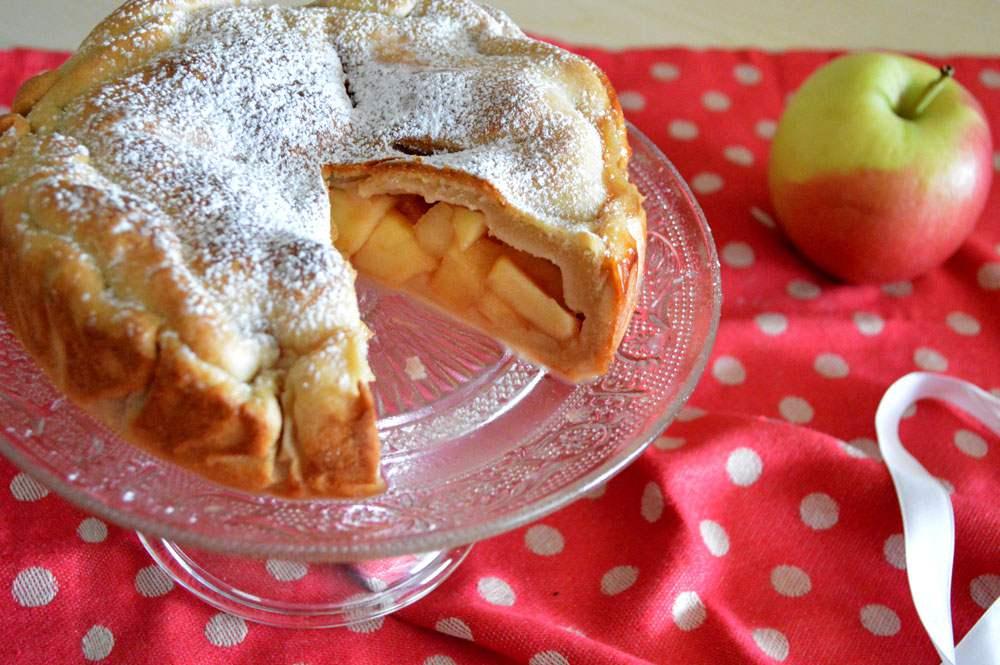 Apple pie, la torta di mele di nonna Papera - BurroFuso