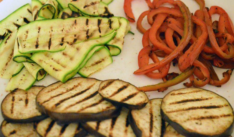 Verdure grigliate, per contorni saporiti