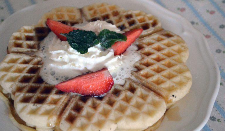 Waffle, la ricetta ideale per la colazione