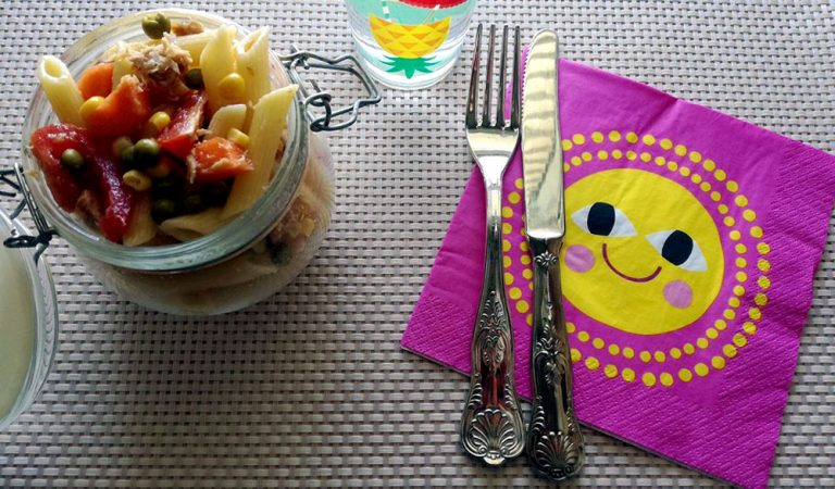Insalata di pasta, per un pranzo all'aria aperta